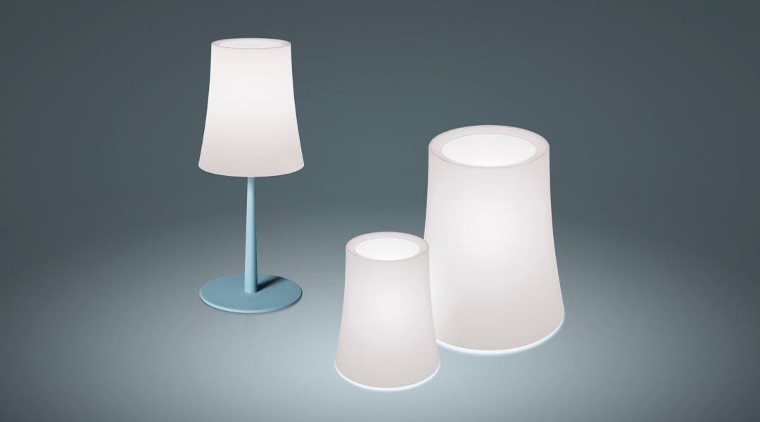 5_Birdie Easy + Birdie Zero, lampade da tavolo, Ludovica + Roberto Palomba