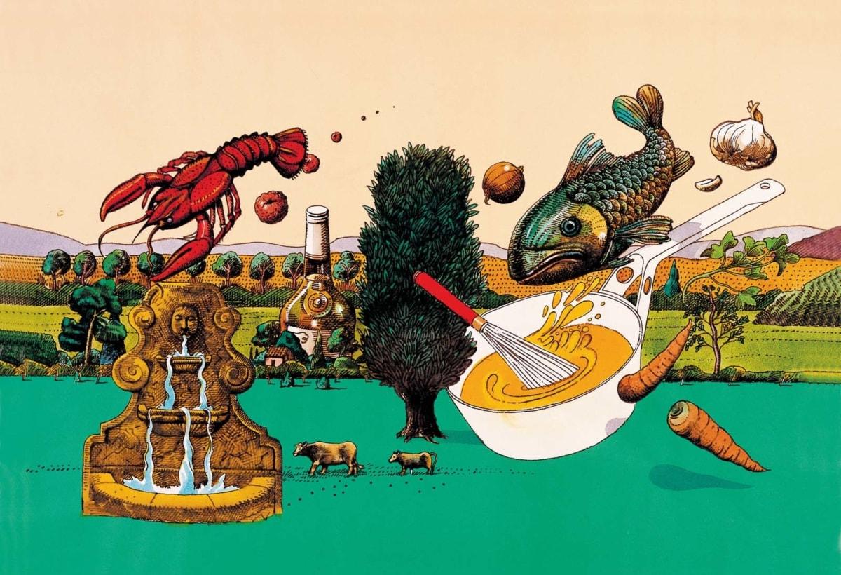 Milton Glaser_La Cintura di Orione_copertina Chapel