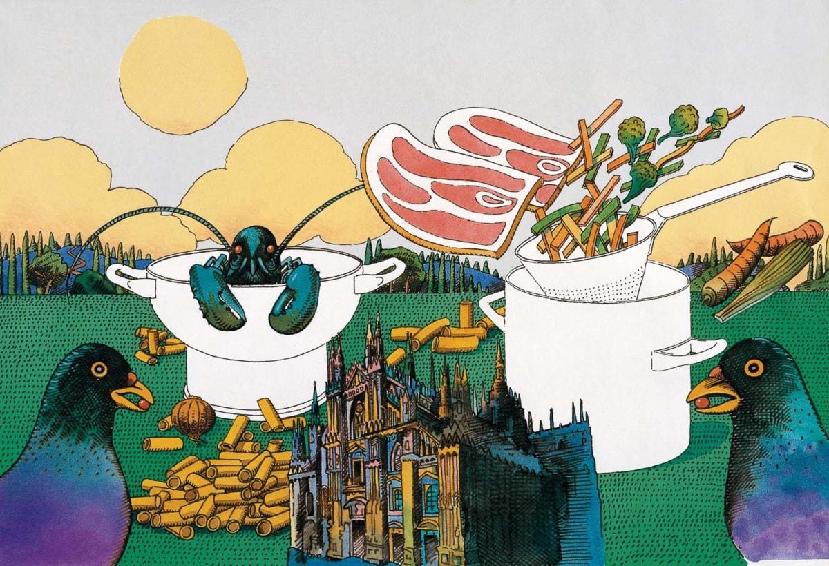 Milton Glaser_La Cintura di Orione_copertina Marchesi