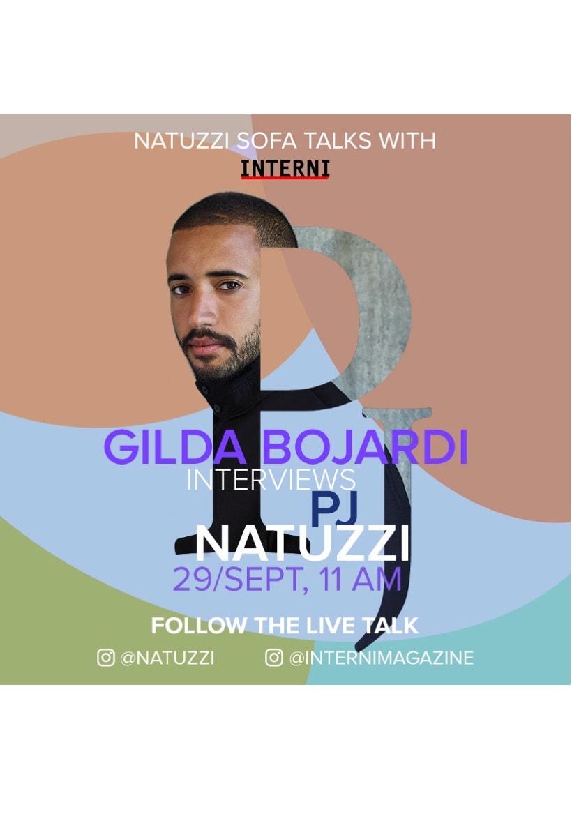 Tomorrow live on Instagram: Gilda Bojardi and PJ Natuzzi