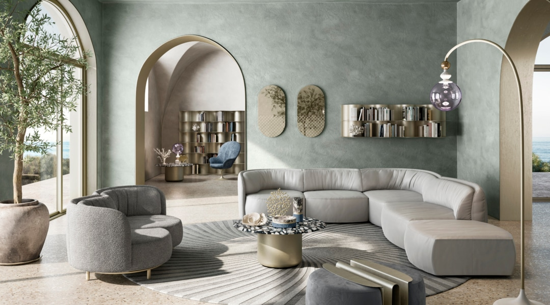 Natuzzi Italia - THE CIRCLE OF HARMONY - Collezione Deep by Nika Zupanc
