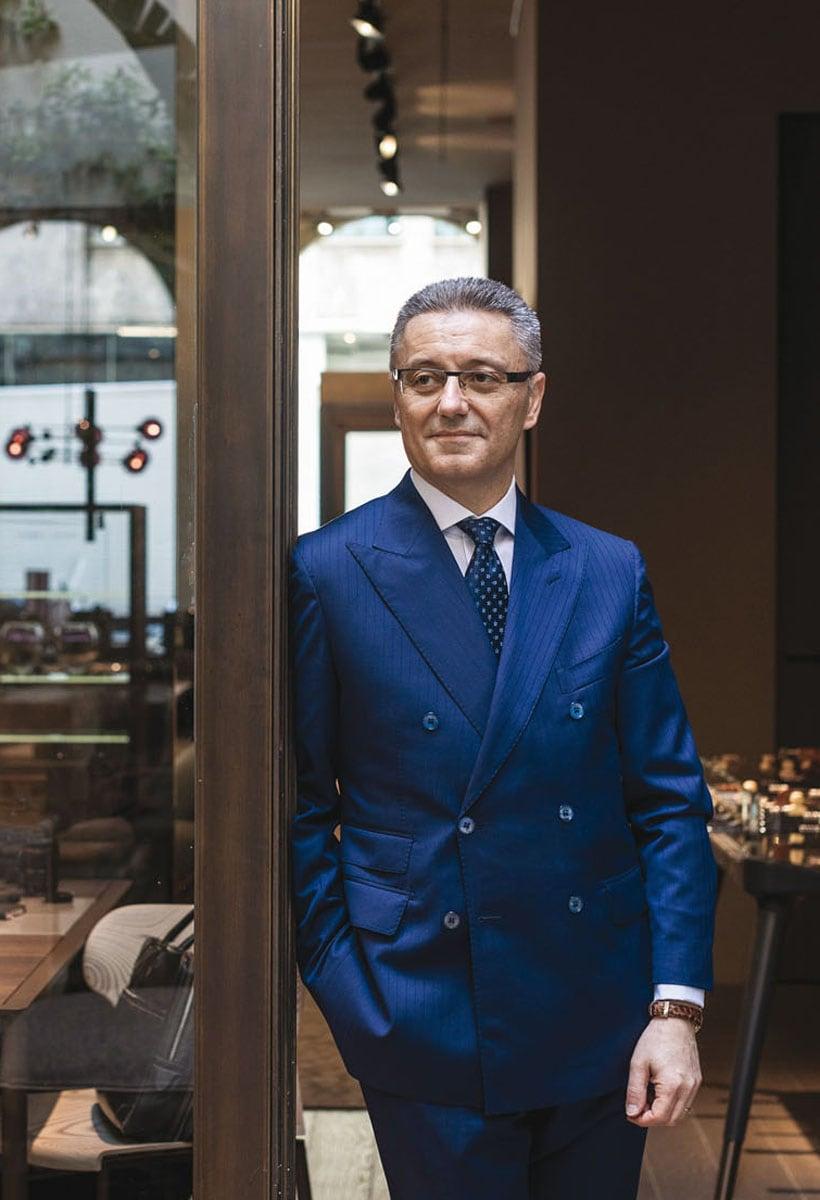The quality of domesticity according to Giorgetti CEO Giovanni del Vecchio
