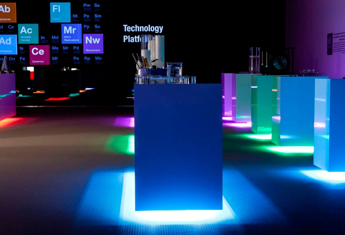 Lighting Design 3M Innovation Center, Stoccolma 2012