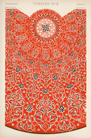Image Plate from Owen Jones' 1853 classic The Grammar of Ornament
