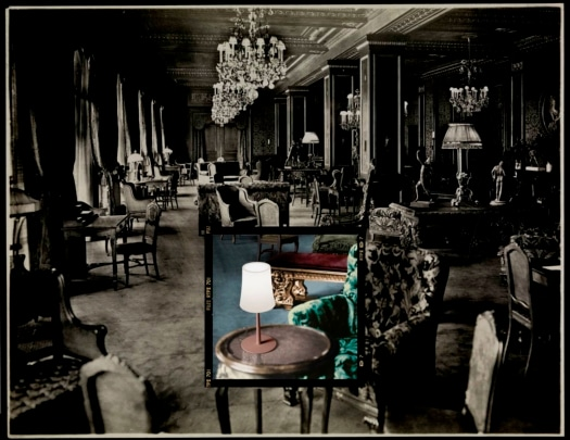 Lounge at the Hotel Knickerbocker, 1906 (silver gelatin print)