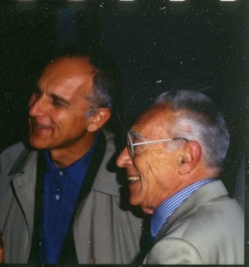 Ritratto_Achille Castiglioni e Gianfranco Cavaglià_1996