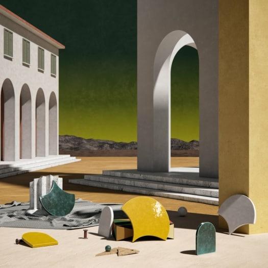 fangoRosa — Ceramica – Giorgio De Chirico-min