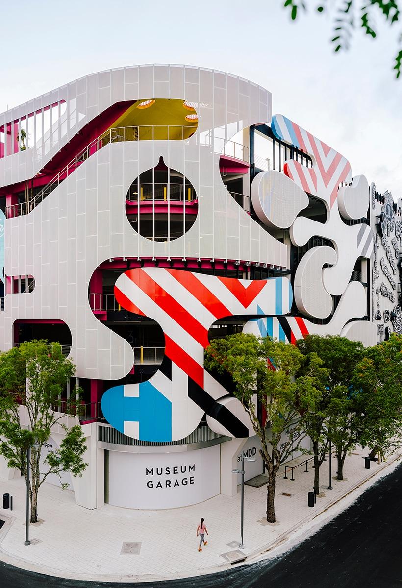 The garage of Mr Design Miami