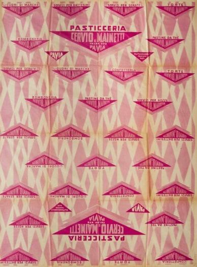 10_Nicholay Dlulgheroff_Carta pasticcera per pasticceria Cervio e Mainetti Pavia_ 1930