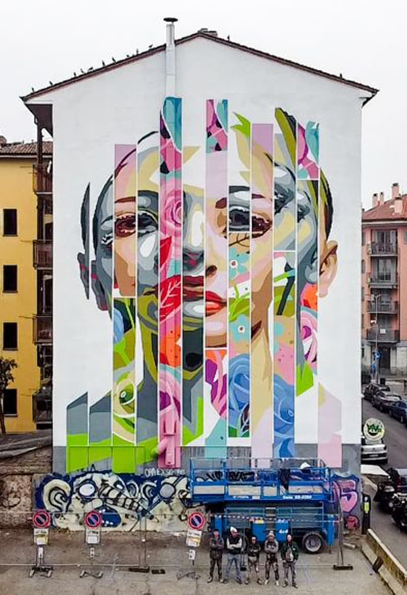 Milan open city (to public art)