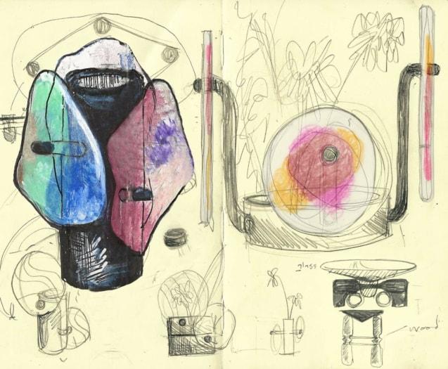 CASSINA_Colourdisc_Bethan Laura Wood_preliminary sketches copia