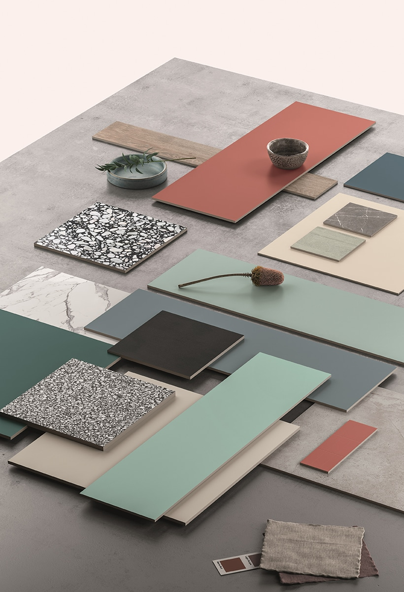 Interiors coverings: when colors matter