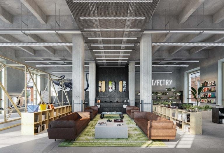 Concept Unità Retail – piano terra Building copia