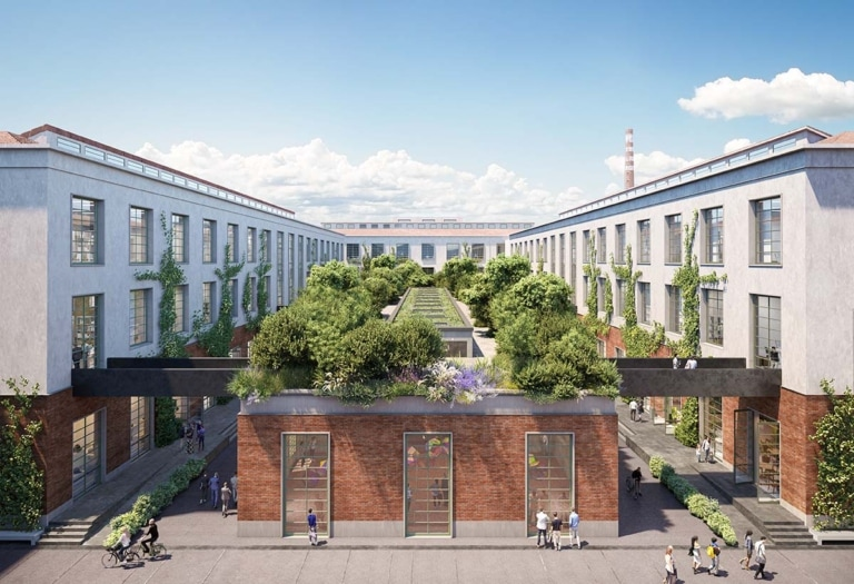 MT_Central Square_ Manifattura Tabacchi – edifici 4, 5, 6 e 11 della Factory