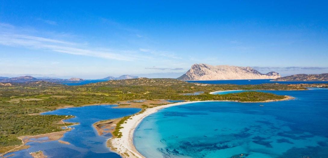 Beautiful,Aerial,View,Of,The,Beach,Of,Lu,Impostu