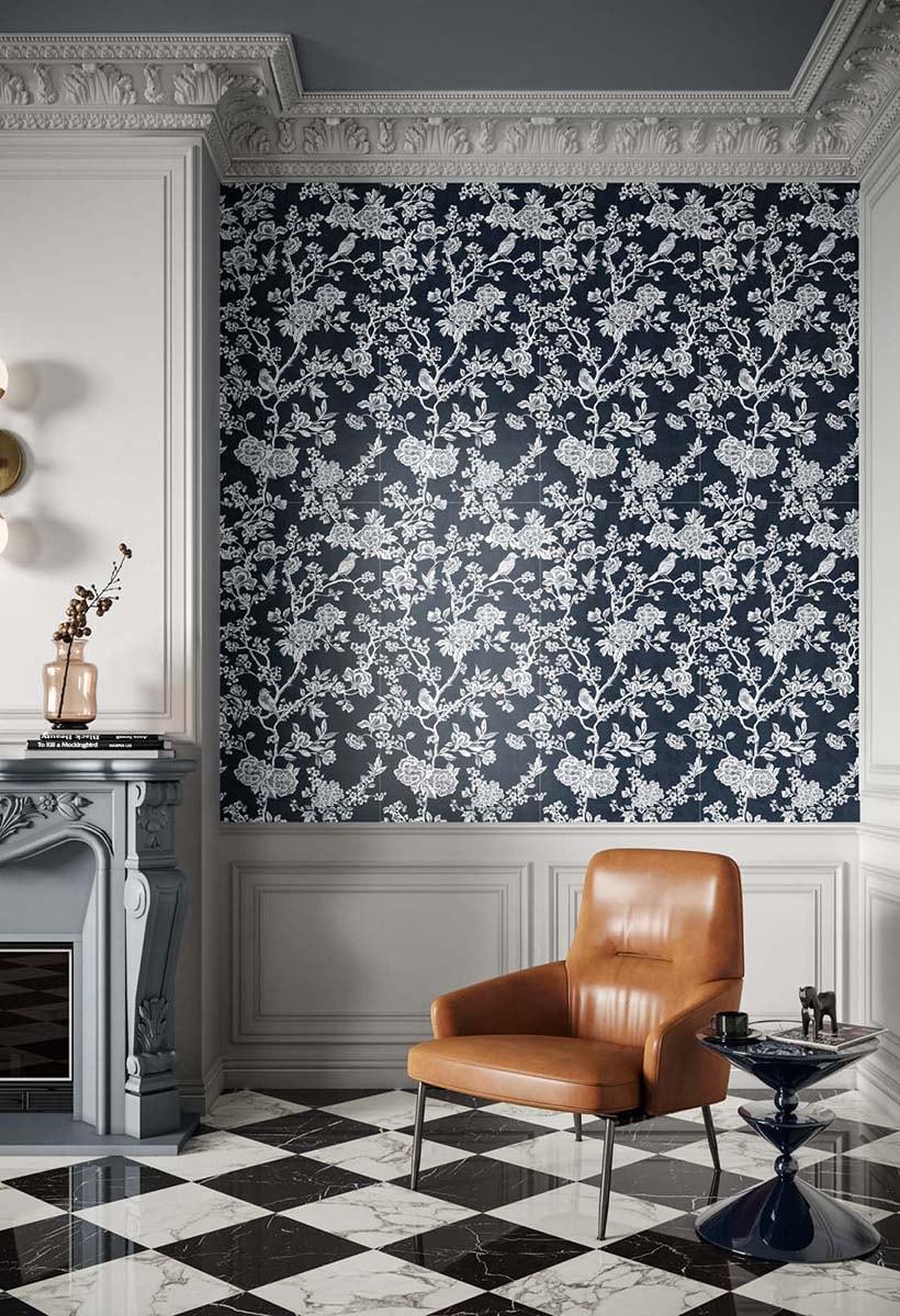 Chromagic, the magic of ceramic wallpapers