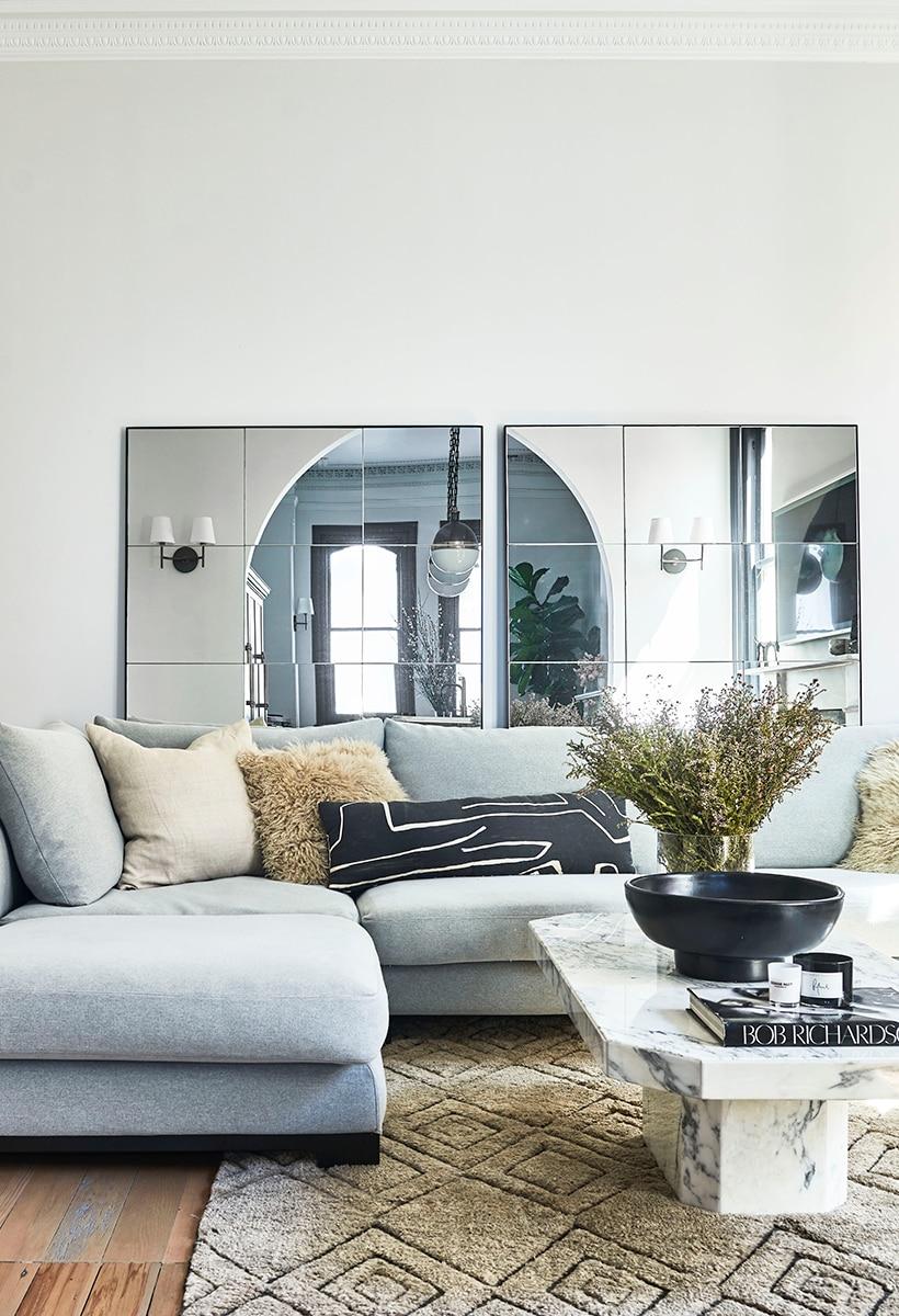 Fashion interior in Sydney: Jillian Dinkel's home