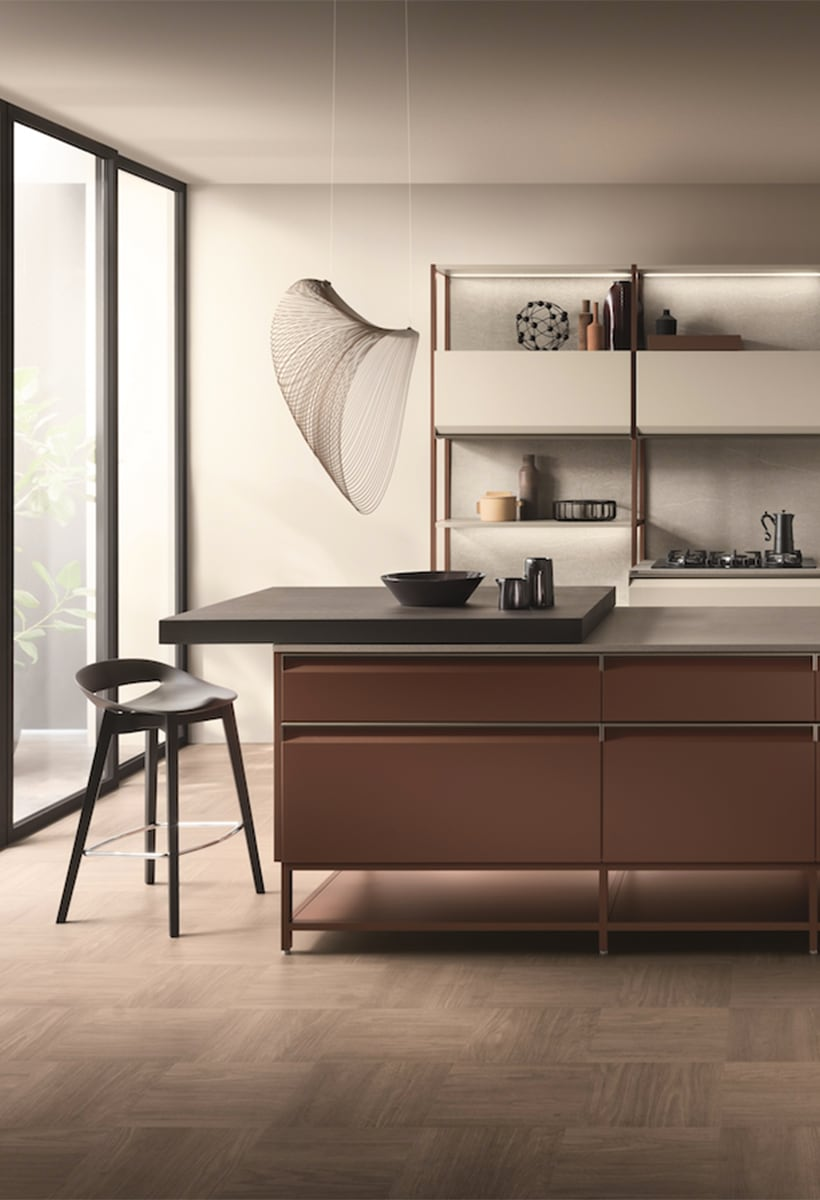Formalia by Scavolini, the fluidity of the contemporary home