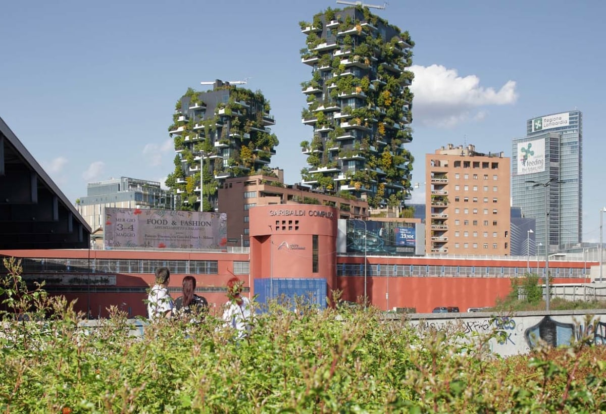 (c)Boeri Studio_Vertical Forest_Milan_ph.Paolo Rosselli