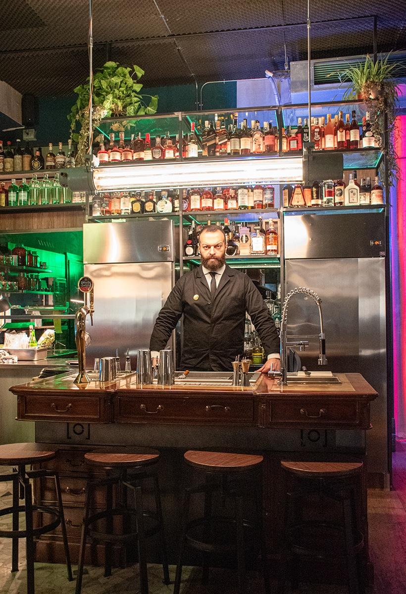 Domenico Carella: how to design a place (for cocktails)