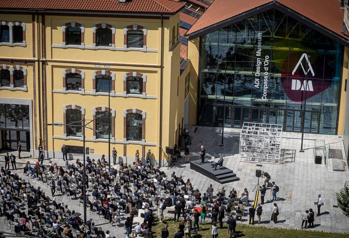 P.za Compasso d'Oro 1 Conferenza stampa di presentazione e inaugurazione di ADI Design Museum – Compasso d'Oro, con ministro ministroFranceschini e sindaco Sala