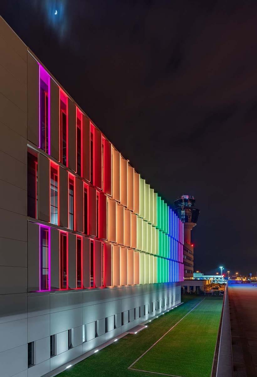 Rainbow led