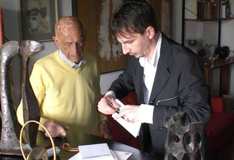 10 Paolo Benevelli-Gillo Dorfles copia