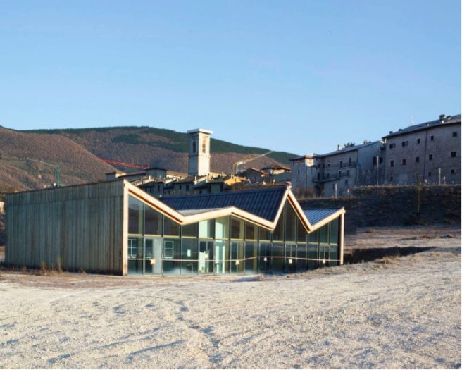 7 Centro Polivalente e di Protezione Civile di Norcia, Stefano Boeri Architetti. ©FlaviaRossi_11