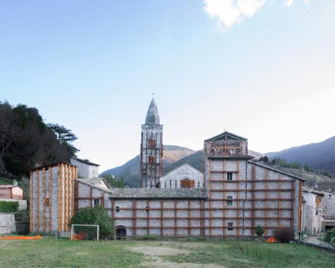 8 Collegiata di S. Maria, Chiesa di Sant'Agostino, Visso. 2019 ©Flavia Rossi_8