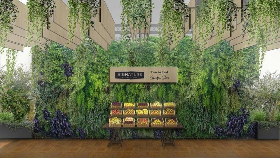 Fuorisalone 2021 eventi Durini, SKS_True to Food Garden Show_farm market