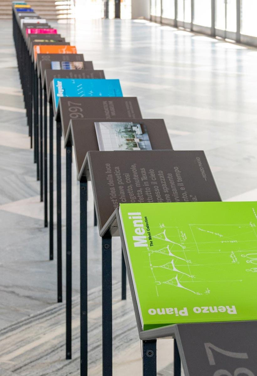 The archive tale. The Fondazione Renzo Piano books