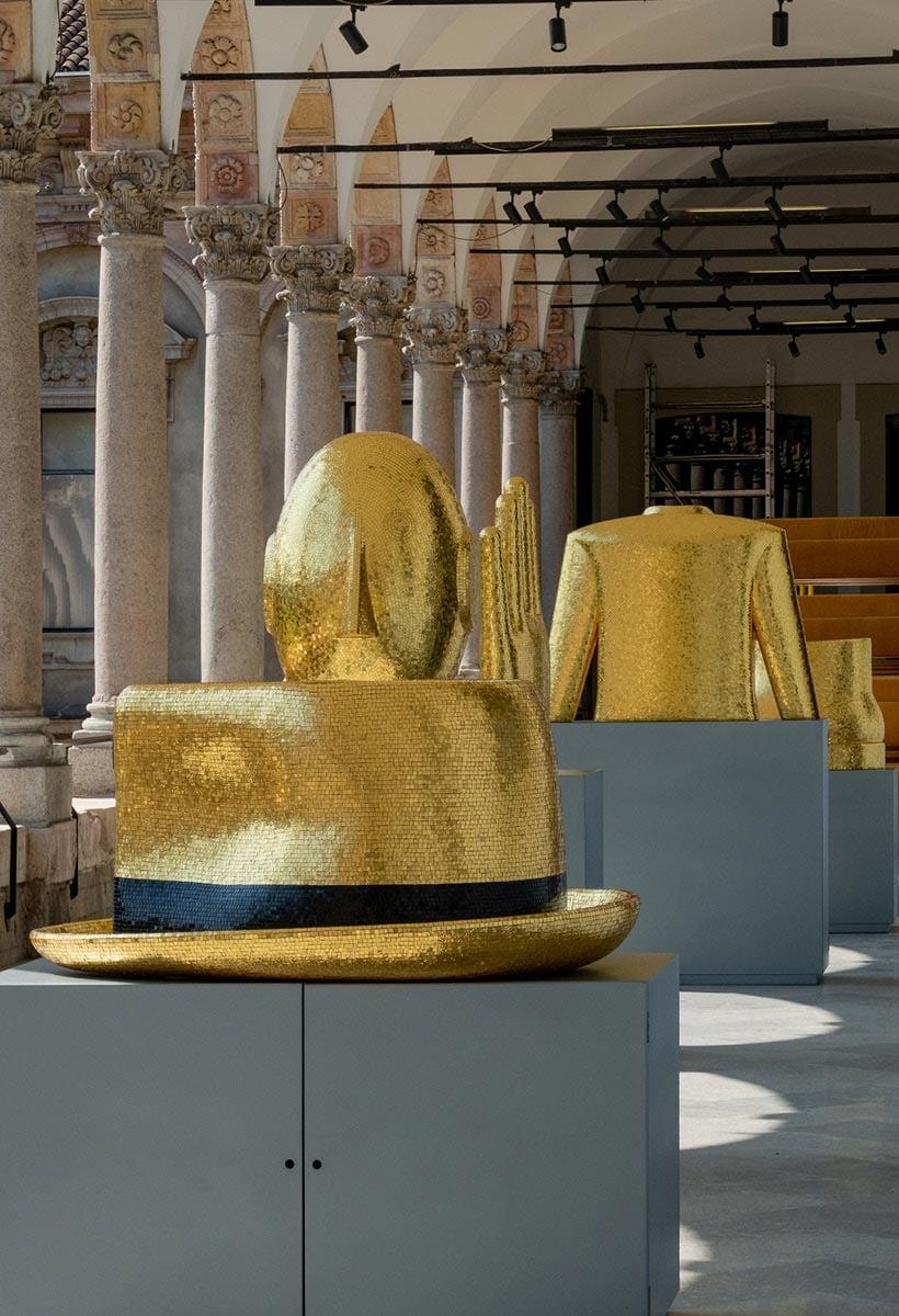Tribute to Alessandro Mendini. Man's furniture
