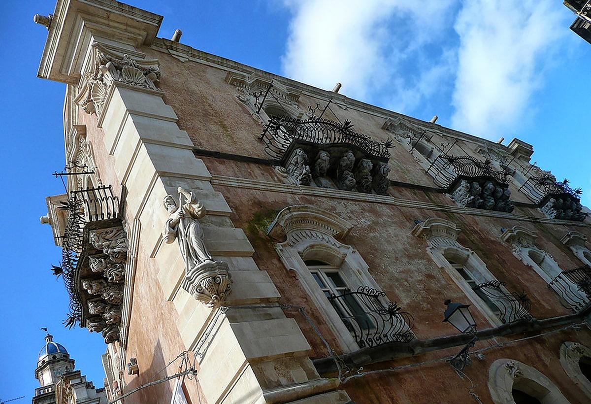Ragusa Barocco Palazzo Cosentini