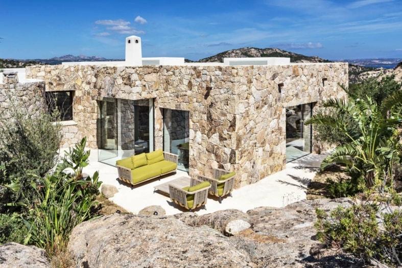 Villa Martine Sardegna Studio Pè 9