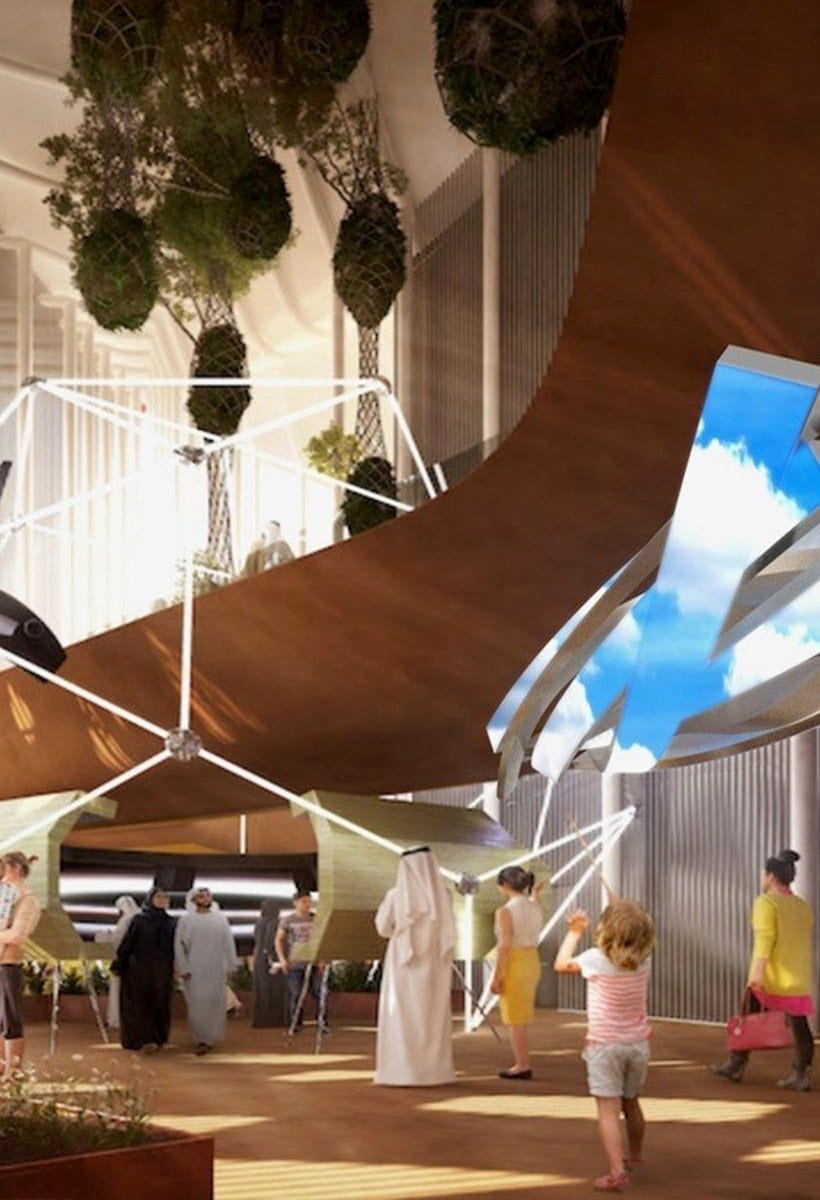 Expo 2020 Dubai: beauty in architecture connects people