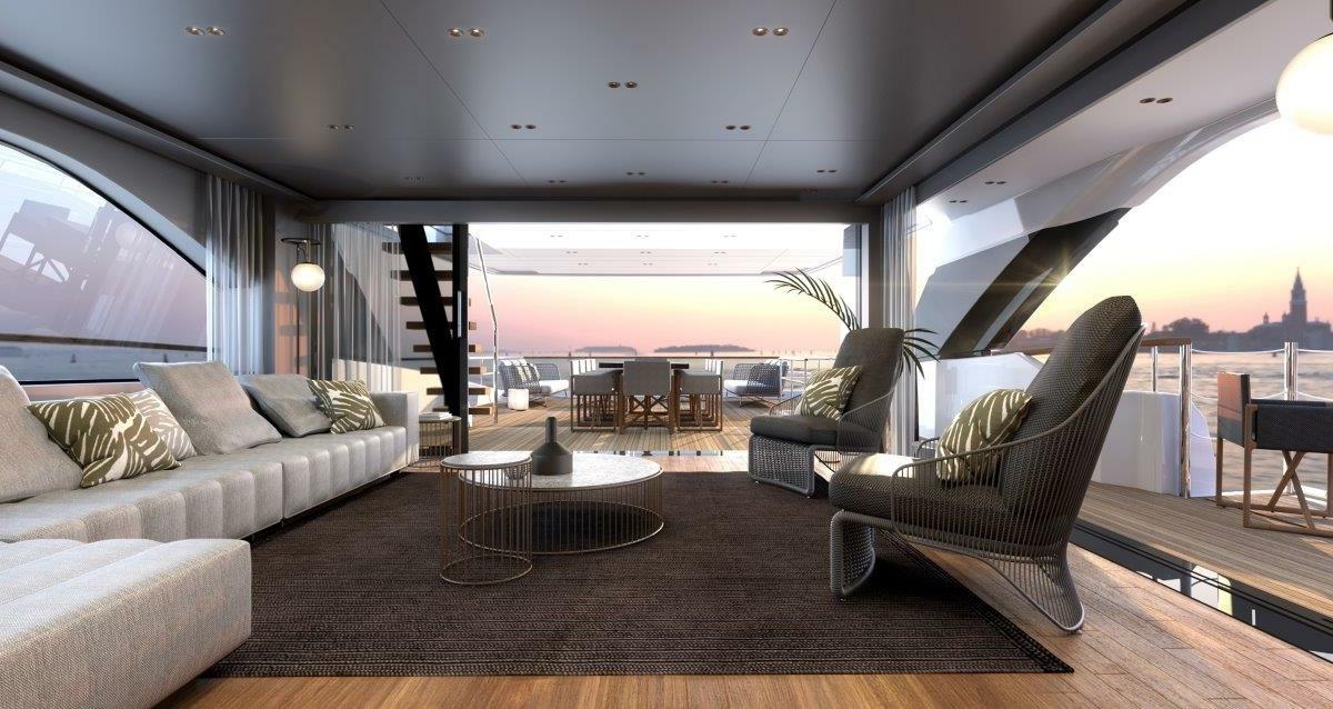 16 Zuccon 12_Sanlorenzo_SD118_asymmetric upper deck salon_interior by Zuccon international Project-min