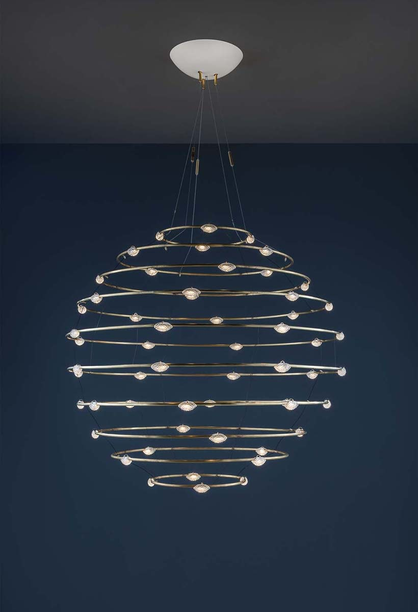 Petits Bijoux by Catellani & Smith: a marvel of lamp