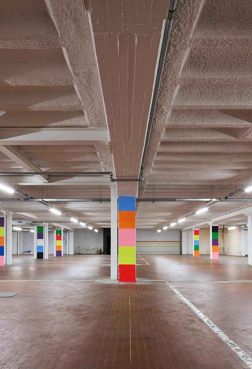 Art Drive-in by Peter Halley in Brescia
