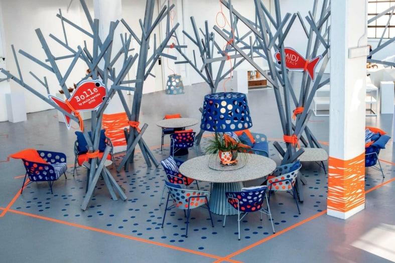 FuoriSalone Tortona Superdesign Show MIDJ Paola Navone collezione Bolle