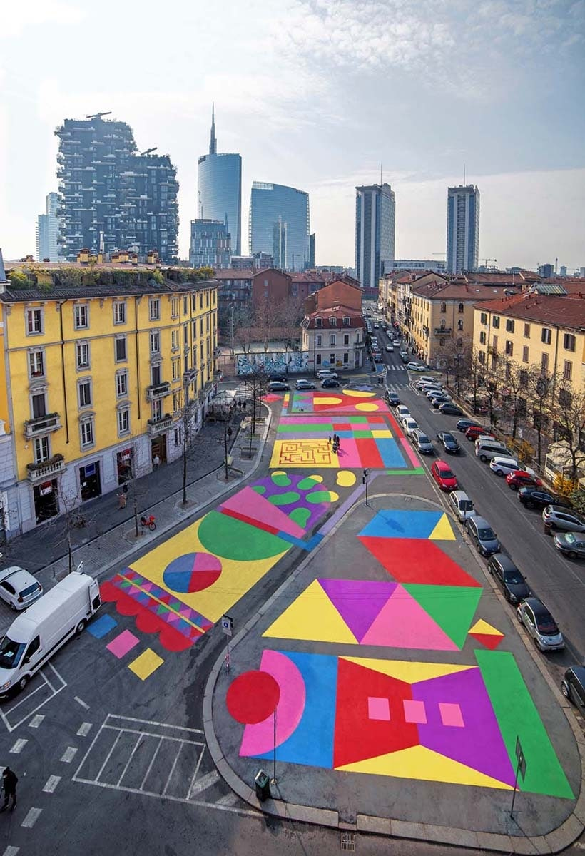 Asphalt art: the era of tactical urbanism