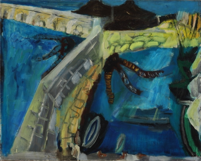 Port d_Antibes, 1950
