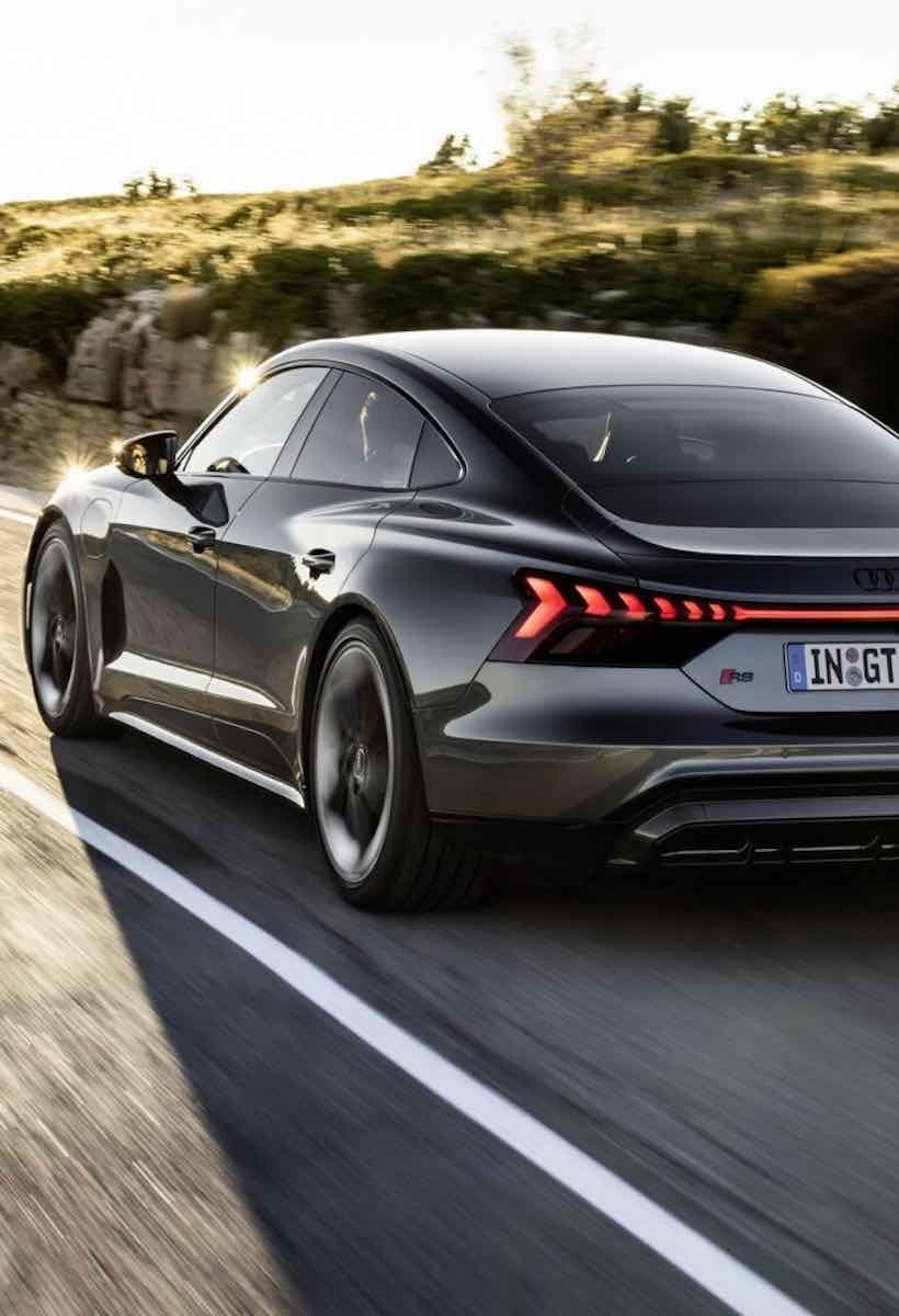Audi e-tron GT: design comes from efficiency