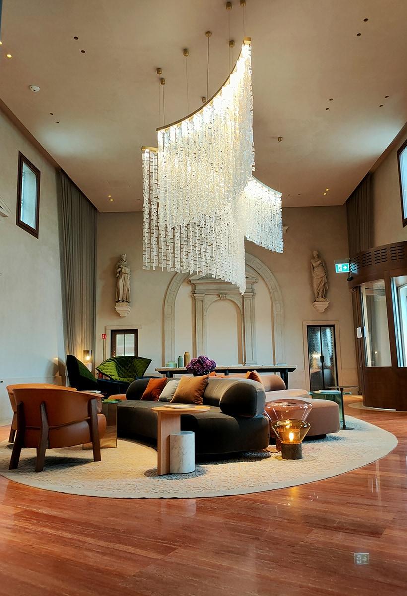 The (sober) essence of Venice in the Ca 'di Dio Hotel by Patricia Urquiola