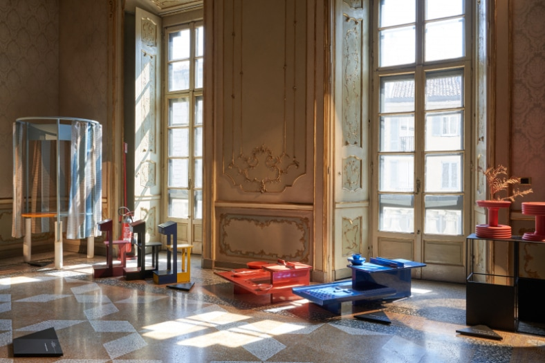 FuoriSalone 2021 5Vie Palazzo Litta Design Variations 2021, curated by MoscaPartners_orografie Ph. Sistemamanifesto – 0665