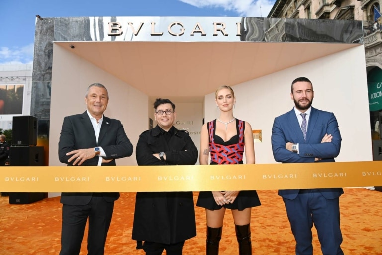 BULGARI SERPENTI METAMORPHOSIS – Ribbon Cutting and Pop-up Installation Unveiling