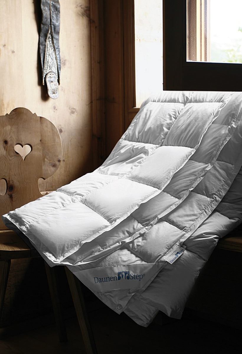 DaunenStep: the duvet that promotes good sleep